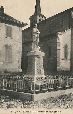 CPA Jarsy (73) - Monument aux morts