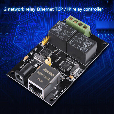 2-way Internet Relay Board Ethernet TCP/IP Controller Remote Switch Module UK