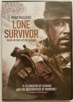 LONE SURVIVOR (DVD, 2014) Mark Wahlberg  *BRAND NEW SEALED* SHIPS FAST Mon-Sat!