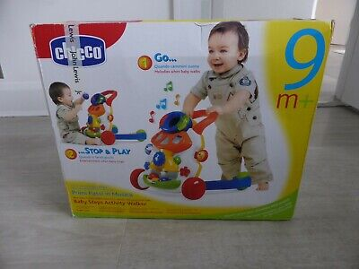 Brand New In Box Chicco Baby Steps Activity Walker