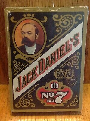 VINTAGE PLAYING CARDS OLD NO. 7 BRAND JACK DANIELS Still NEW in Shrink Wrap