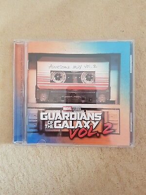 Guardians Of The Galaxy 2 Awesome Mix Vol.2 Cd Soundtrack