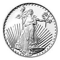Lot of 10 x 1 oz Silvertowne Saint-Gaudens Silver Round