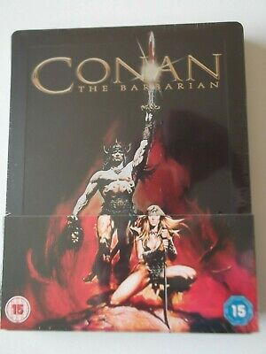 Conan The Barbarian Limited Edition Steelbook Blu-Ray 1982 New And Sealed