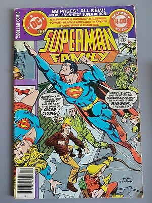 The Superman Family #192 1978 68 pages Supergirl Dollar Comic DC comics