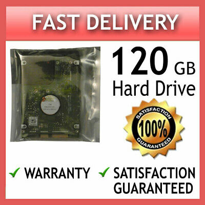 120Gb 2.5 Laptop Hard Drive Hdd Disk For Msi Cr610 Cr620 Cr630 Cr640 Cr643