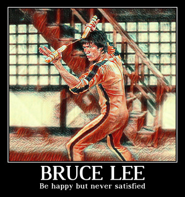 Bruce Lee Colors Poster 24x36 Shrink Wrapped Martial