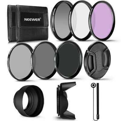 Neewer  UV CPL FLD Lens Filter ND2 ND4 ND8 49MM 52MM 55MM 58MM 62MM 67MM 72MM