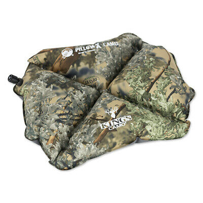 Klymit Pillow X Inflatable Camping & Travel Pillow, King's Camo