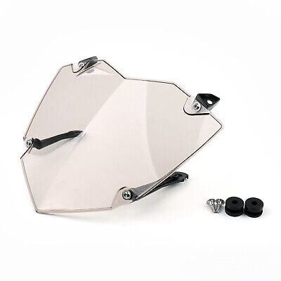 Front Phare Guard Cover Lens Protector Pour BMW R1200GS ADV WC 13-17 Smoke FR