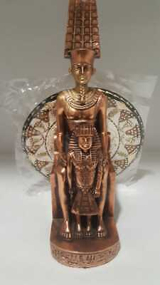 Art of Egyptian Statues Kg.Ramses (Hand Made Copper) Home Decor Antiques (2.2Kg)