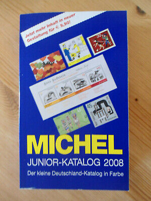 MICHEL Briefmarken Deutschland Junior-Katalog 2008