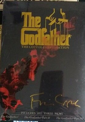 The Godfather Trilogy - The Coppola Restoration (DVD 2008 5-Disc Box-Set) NEW
