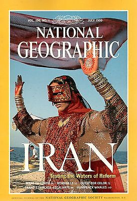 National Geographic-July 1999- Vol 196, No 1- IRAN Testing the Waters of Reform