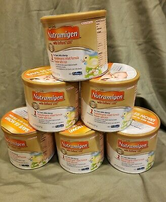 6 Cans!! Nutramigen Baby Formula With Enflora LGG Expires 08/2020 8oz!!