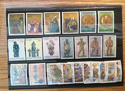 Vatican City 1987 Compete MNH (Mint Never Hinged) NH Year Set