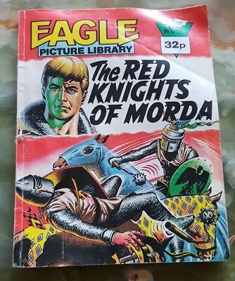 THE RED KNIGHTS OF MORDA: EAGLE PICTURE LIBRARY COMIC No.9  pub.1985
