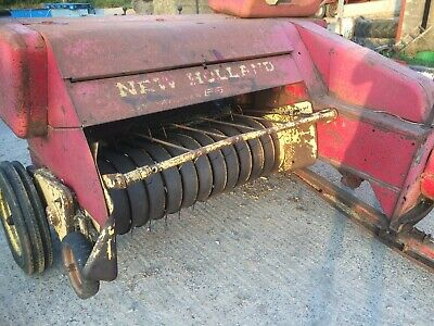 New Holland 68 conventional baler,tractor little bale