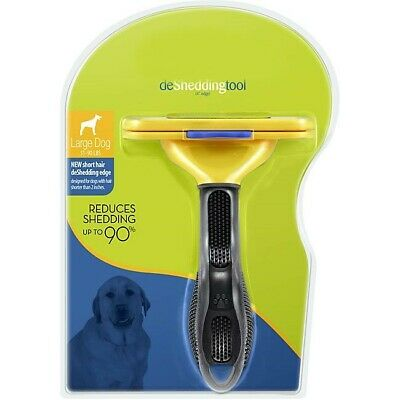 Short Hair Grooming deShedding Professional Tool for Large Dogs Reduce Fur
