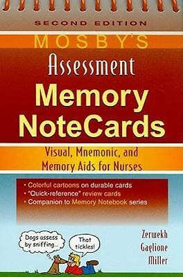 Mosby's Assessment Memory NoteCards : Visual, Mnemonic, and Memory Aids for Nurs