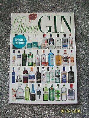 Discover Gin New Magbook Bookazine Magazine Book