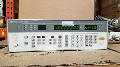 HP 8656B 0.1-990MHz Signal Generator Option 002