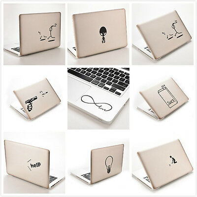 Funny Creative Vinyl Decal Sticker Skin for Laptop MacBook Air Pro 11''~ 15''*H
