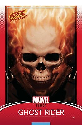Marvel Spirits of Vengeance #1 Legacy Trading Card Variant New/Unread