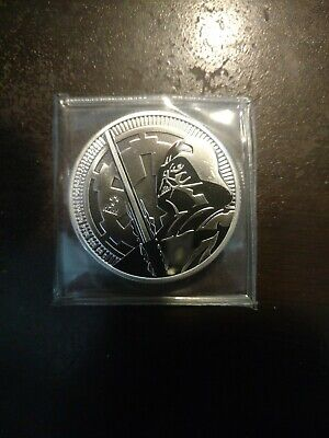 2018 Niue Star Wars Classic Darth Vader 1 oz Silver NO RESERVE AUCTION