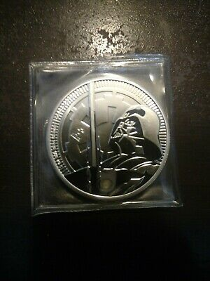 2018 Niue Star Wars Classic - Darth Vader Lightsaber 1 oz Silver $2 NO RES AUC