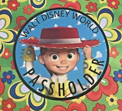 Walt Disney World Annual Passholder JESSIE COWGIRL MAGNET Toy Story Collection