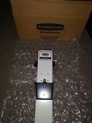 Rubbermaid Medical Solutions Monitor Height Adjustment