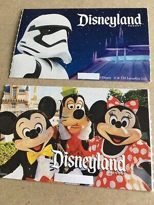 "2 Disneyland Or California Adventure - 1 Day - 1 Park - ""peak"" Tickets"