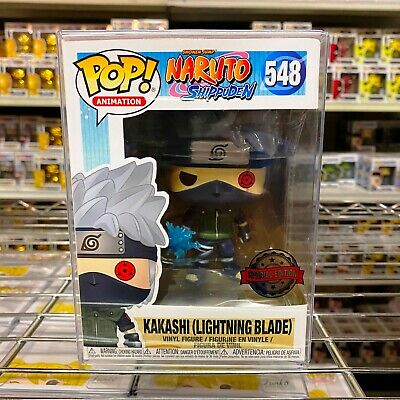 "Funko Pop Animation: Naruto Shippuden: Kakashi #182 Figure w/0.5mm Case ""MINT"""