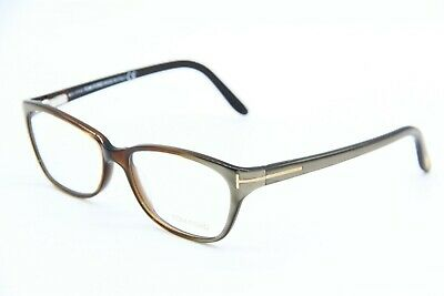 7752b79c420d5 NEW TOM FORD Tf 5142 050 Brown Eyeglasses Authentic Rx Tf5142 54-15 ...