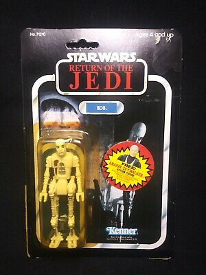 Star Wars 1984 Kenner Return Of The Jedi 8d8 Driod Action Figure