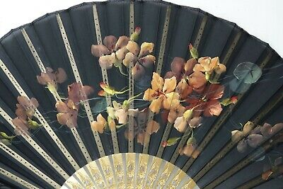 Fine Quality Hand Fan By J Duvelleroy Signed Garindy London & Paris - Very Rare