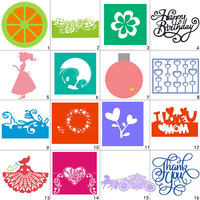 Happy Mother Day Cutting Dies Metal Stencil DIY Scrapbooking Album Paper Card