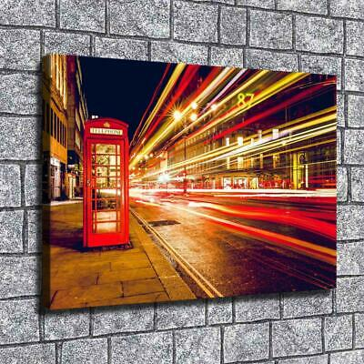 """London England Paintings HD Print on Canvas Home Decor Wall Art Pictures 12""""x16"""""""