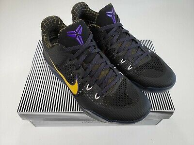 3101db4b3b7 RARE Nike Kobe XI 11 Carpe Diem Black Purple Gold Mens Sz 11.5 836183-015