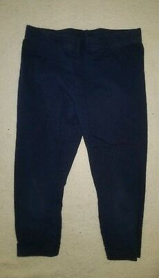 Girls Carter's Blue Leggings Size 6 Excellent Condition