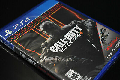 Call of Duty: Black Ops 3 III Zombies Chronicles Edition New PS4 (PlayStation 4)