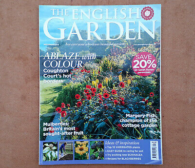 THE ENGLISH GARDEN - SEPTEMBER 2018 - Coughton Court - Mulberries - Cottage Gdns