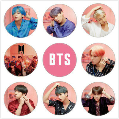 KPOP BTS Bangtan Boys Album MAP OF THE SOUL PERSONA Brooch Badge Button Pin