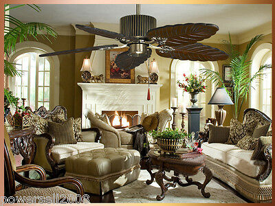New Fashion Luxury Forest Style 48 Inches Top grade Ceiling Fans+Lamp