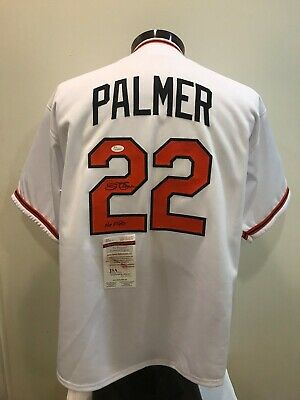 acfd8aa0e Jim Palmer signed Baltimore Orioles custom jersey JSA witnessed COA