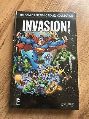 DC Comics Graphic Novel Collection - Invasion - Eaglemoss Special 10 New Sealed