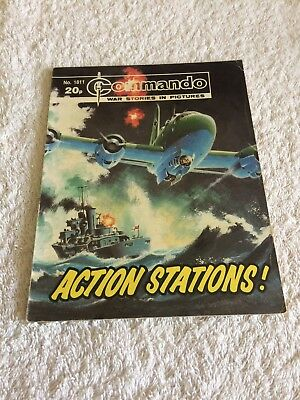 High Grade Commando Comic Number 1811 VFC