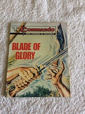 High Grade Commando Comic Number 1635 VFC