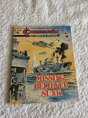 High Grade Commando Comic Number 1670 VFC